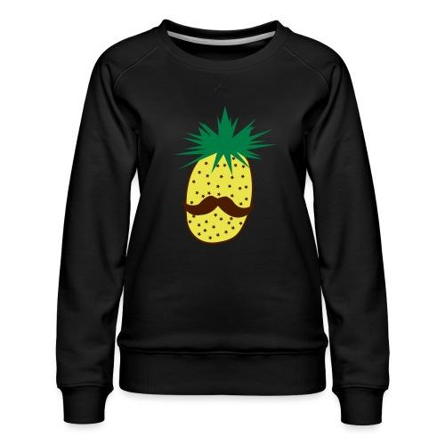 LUPI Pineapple - Women's Premium Sweatshirt