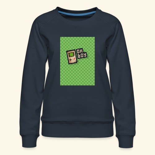 oh boy handy - Women's Premium Sweatshirt