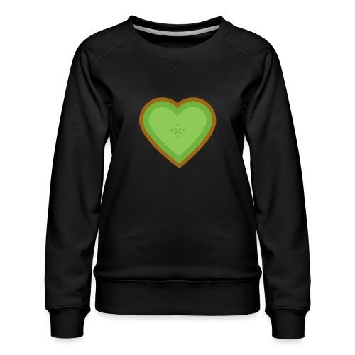 Fruit Love - Women's Premium Slim Fit Sweatshirt