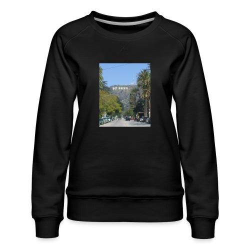 RockoWood Sign - Women's Premium Sweatshirt