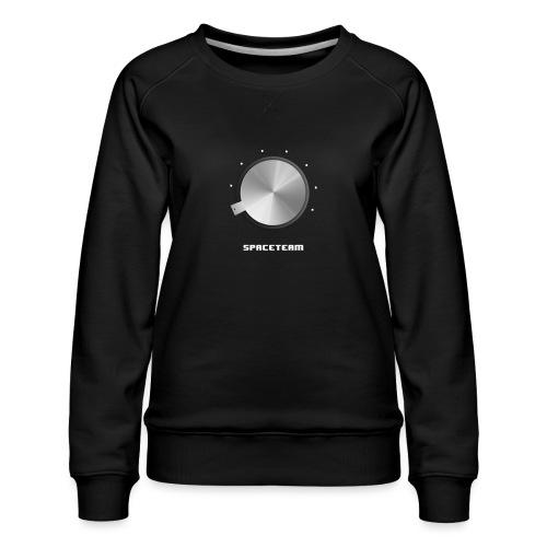 Spaceteam Dial - Women's Premium Slim Fit Sweatshirt