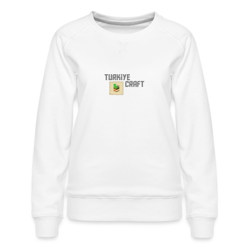 TurkiyeCraft Logo - Women's Premium Sweatshirt