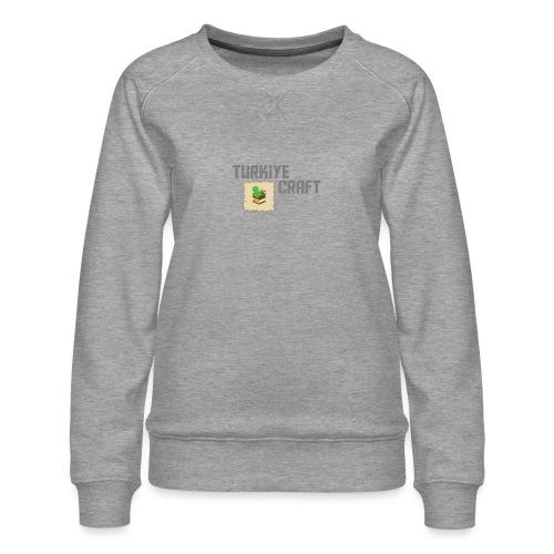 TurkiyeCraft Logo - Women's Premium Sweatshirt