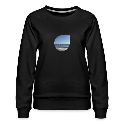 Floating sand - Women's Premium Sweatshirt