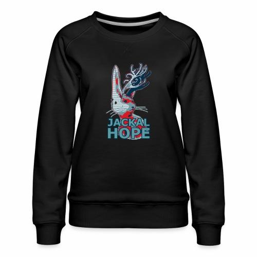 Jackalhope - Women's Premium Sweatshirt