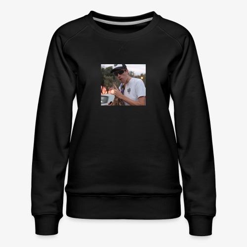 big man - Women's Premium Sweatshirt