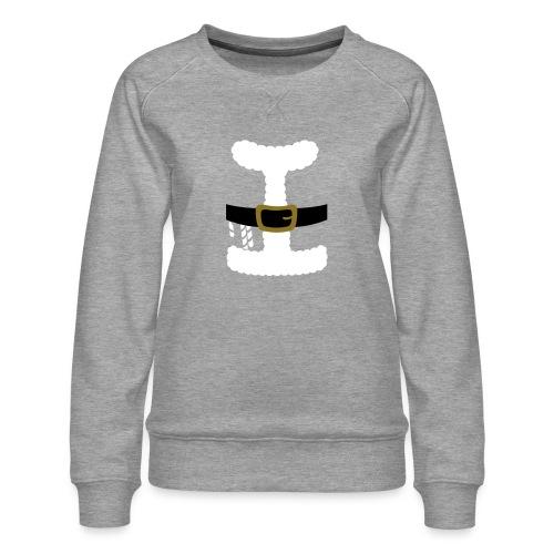 SANTA CLAUS SUIT - Men's Polo Shirt - Women's Premium Sweatshirt