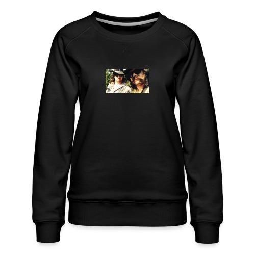 Jaw Thrust Cover Art - Women's Premium Sweatshirt