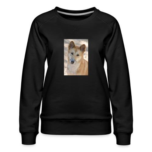 My youtube page - Women's Premium Slim Fit Sweatshirt