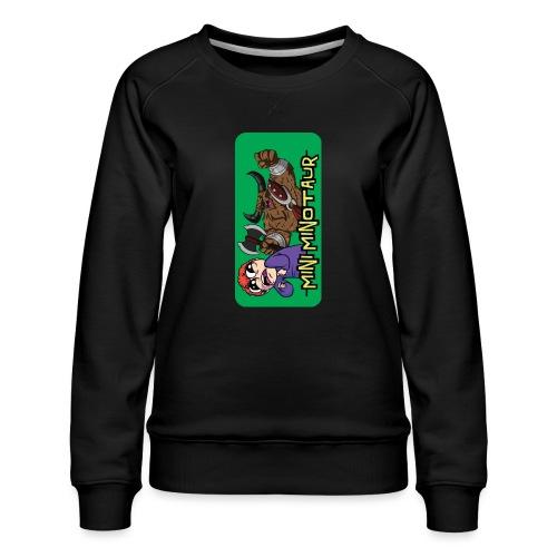 Mini Minotaur iPhone 5 - Women's Premium Sweatshirt