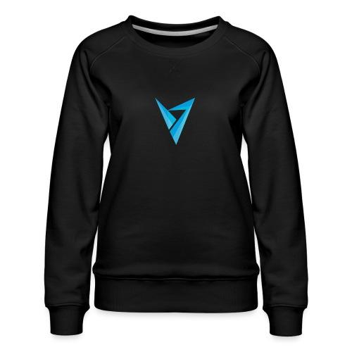 v logo - Women's Premium Sweatshirt