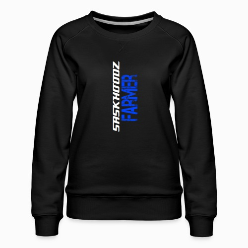 saskhoodz farming - Women's Premium Sweatshirt