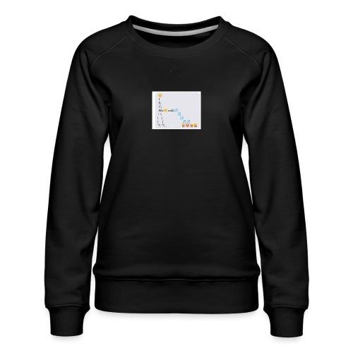 PD Cover Art - Women's Premium Sweatshirt