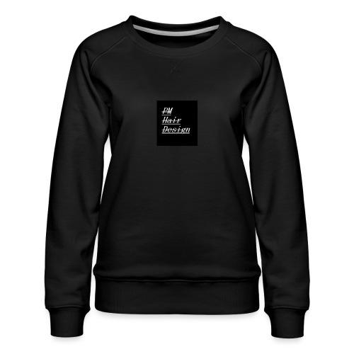 PM Hair Design - Women's Premium Sweatshirt