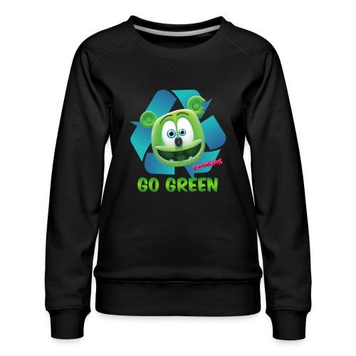 Gummibär Recycle - Women's Premium Sweatshirt