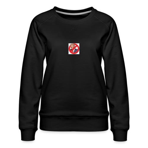 blog stop trump - Women's Premium Sweatshirt