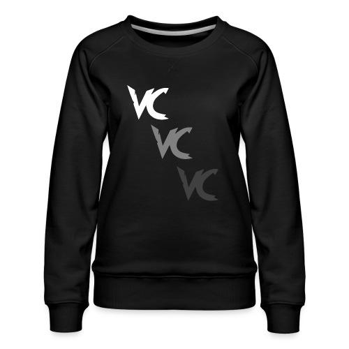 V3L0C1TY Logo Mugs & Drinkware - Women's Premium Sweatshirt