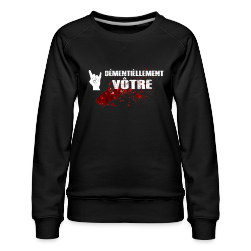 2017-LOGO-2-4000PX Long Sleeve Shirts - Women's Premium Sweatshirt