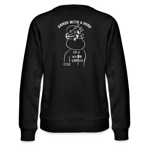 Armed With A Mind Montreal SXE - Women's Premium Slim Fit Sweatshirt
