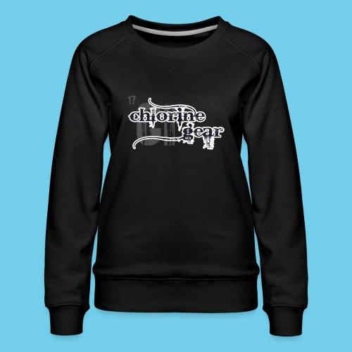 Butterwhy.png Sweatshirts - Women's Premium Sweatshirt
