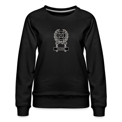 Expert Hacker Qualification Badge - Women's Premium Sweatshirt