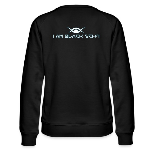 IAMBSF Logo and Text png - Women's Premium Sweatshirt