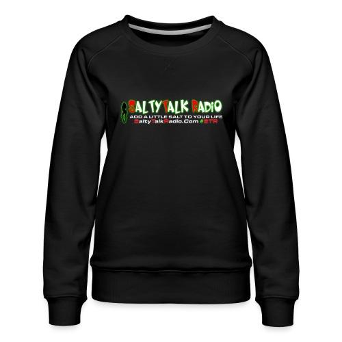 str front png - Women's Premium Slim Fit Sweatshirt