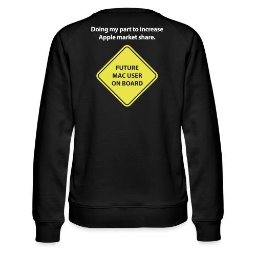 macuseronboard - Women's Premium Sweatshirt