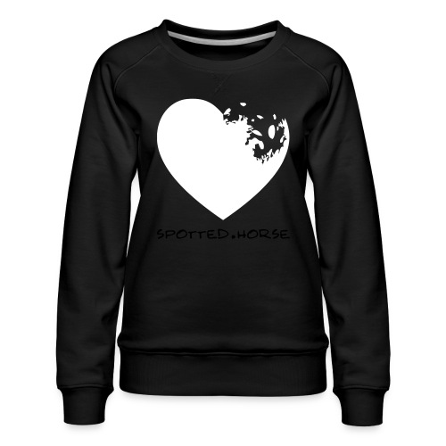 Appaloosa Heart - Women's Premium Sweatshirt