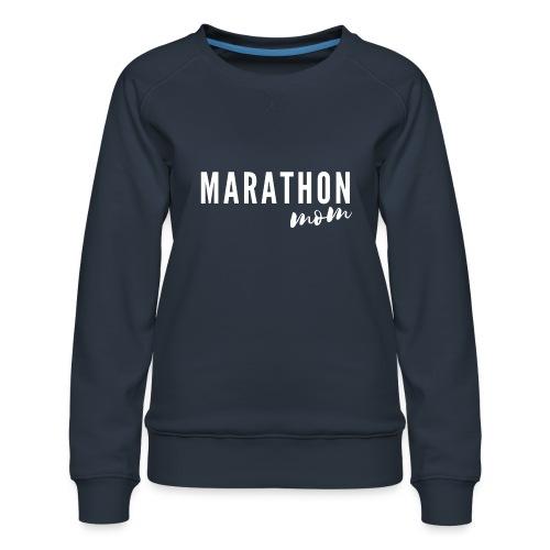 Marathon Mom - Women's Premium Slim Fit Sweatshirt