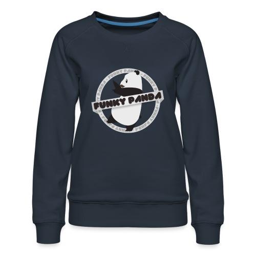 Funky Panda Logo - Women's Premium Sweatshirt