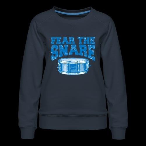 FEAR THE SNARE - Women's Premium Sweatshirt