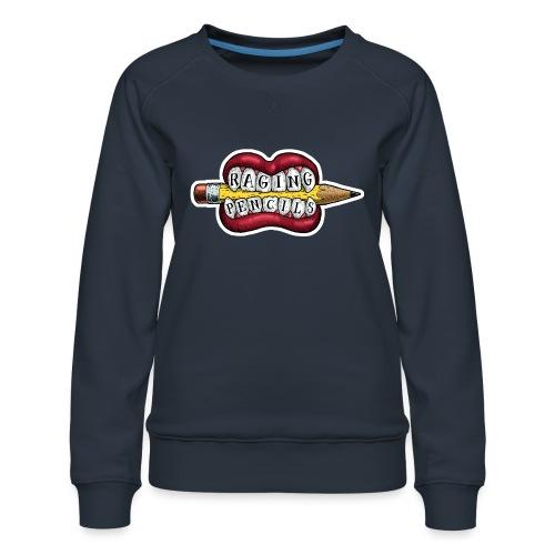 Raging Pencils Bargain Basement logo t-shirt - Women's Premium Sweatshirt