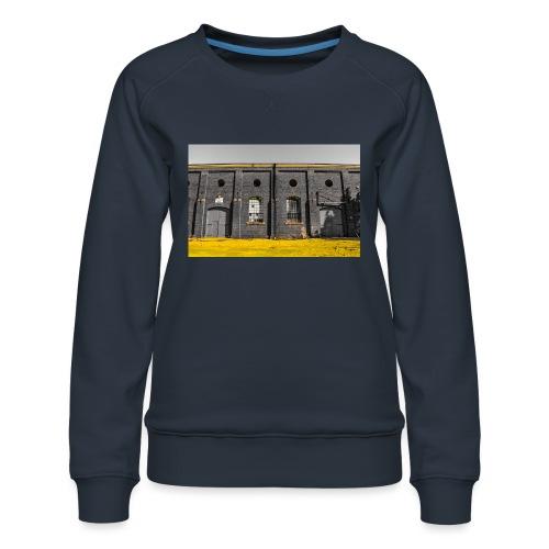Bricks: who worked here - Women's Premium Sweatshirt