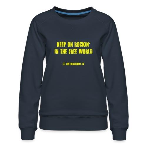 KORITFW yellow - Women's Premium Sweatshirt