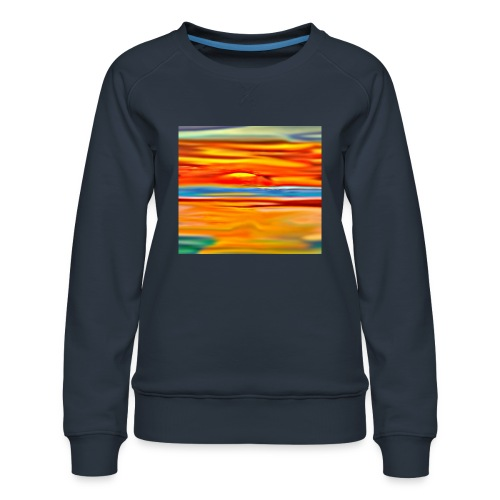 Orange rise - Women's Premium Sweatshirt