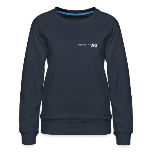 Generation Ag White - Women's Premium Sweatshirt