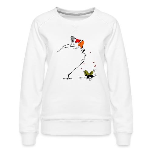 Lady Climber - Women's Premium Sweatshirt