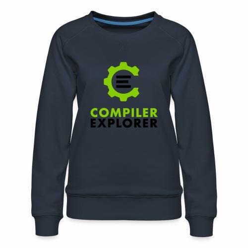 Logo and text - Women's Premium Sweatshirt