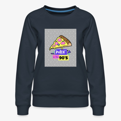 Made In The 90's - Women's Premium Sweatshirt