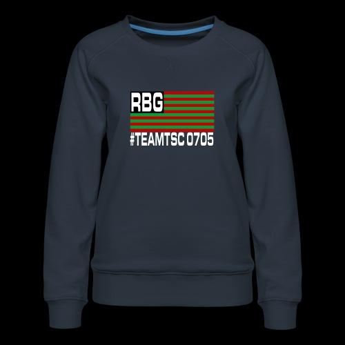 TeamTSC RBGFlag 2 - Women's Premium Sweatshirt