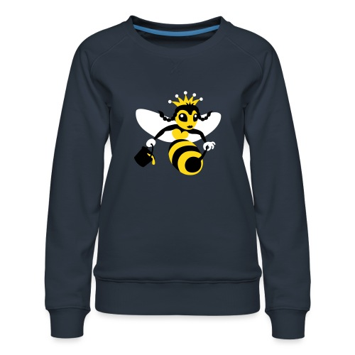 Queen Bee - Women's Premium Sweatshirt