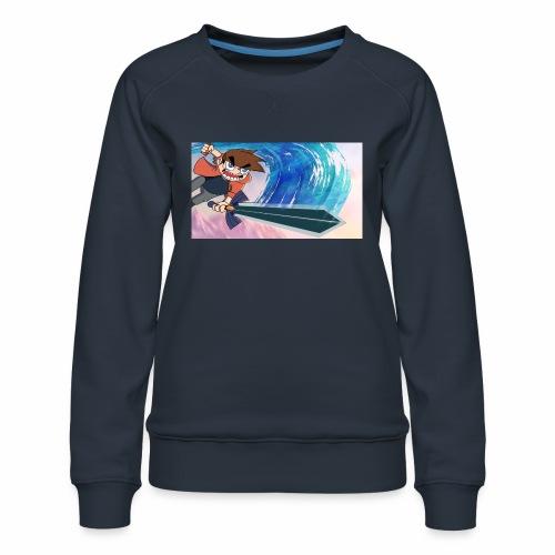Funnerdiction fantasy - Women's Premium Sweatshirt