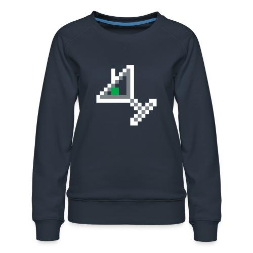 item martini - Women's Premium Slim Fit Sweatshirt