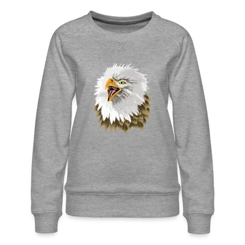 Big, Bold Eagle - Women's Premium Sweatshirt