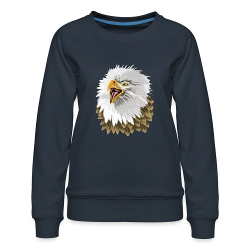 Big, Bold Eagle - Women's Premium Sweatshirt