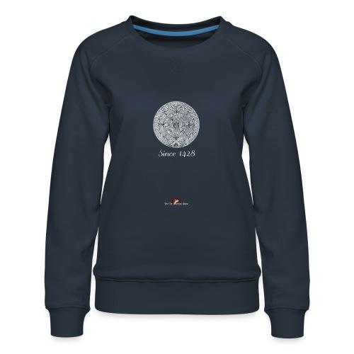 Since 1428 Aztec Design! - Women's Premium Sweatshirt