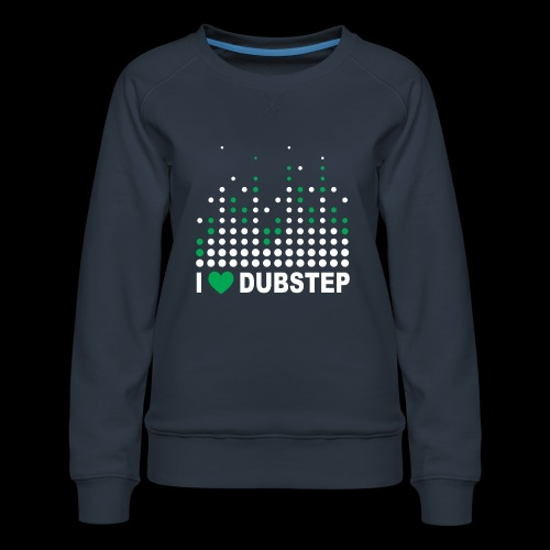 I heart dubstep - Women's Premium Sweatshirt