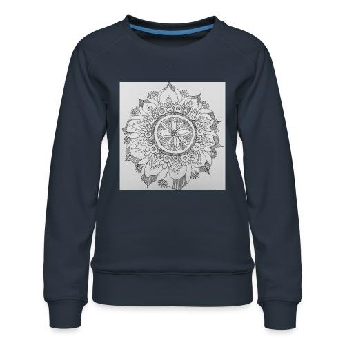 IMG 20180519 082412187mandala - Women's Premium Sweatshirt