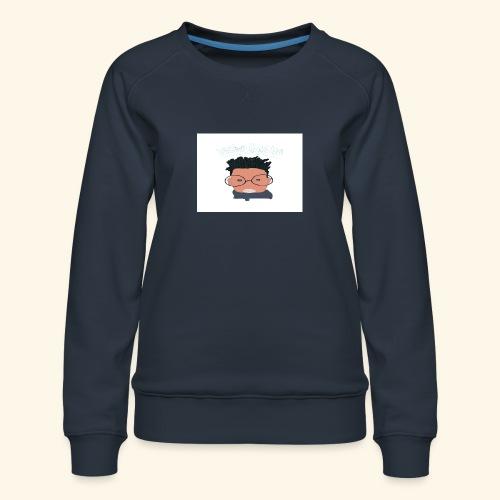 weiweigang logo edit - Women's Premium Sweatshirt